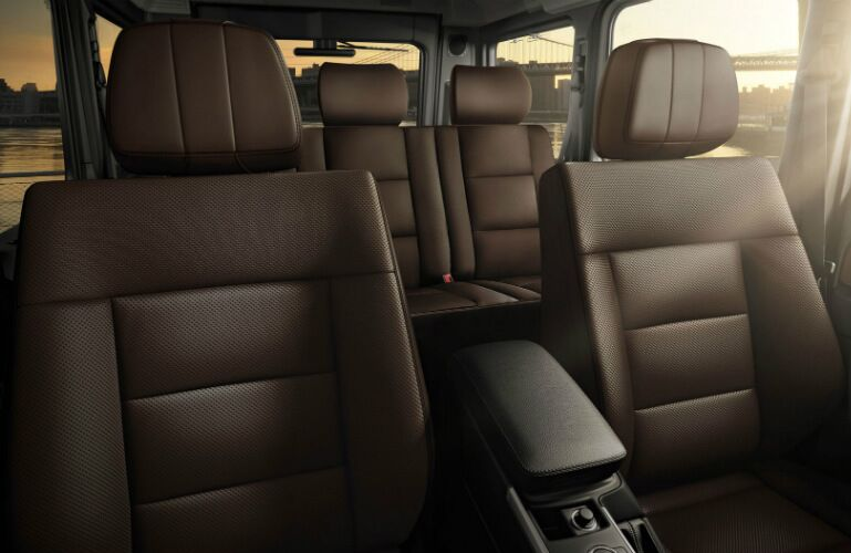 2016 Mercedes-Benz G-Class Interior Upholstery