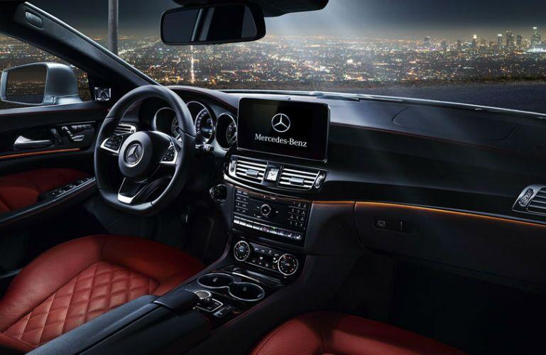 2017 Mercedes Benz Cls550 Mbrace Infotainment Screen