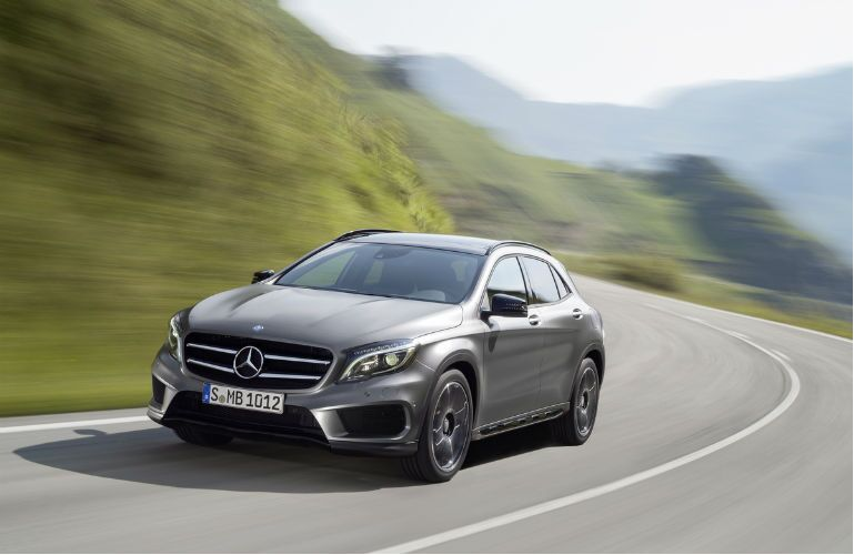 2014 Mercedes-Benz GLA250 4MATIC Grille