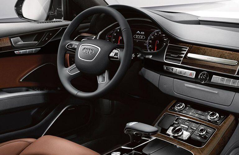 2016 Audi A8 W12 Steering Wheel