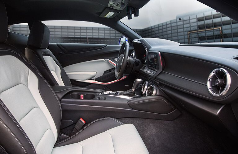 2016 Chevy Camaro Gray Interior