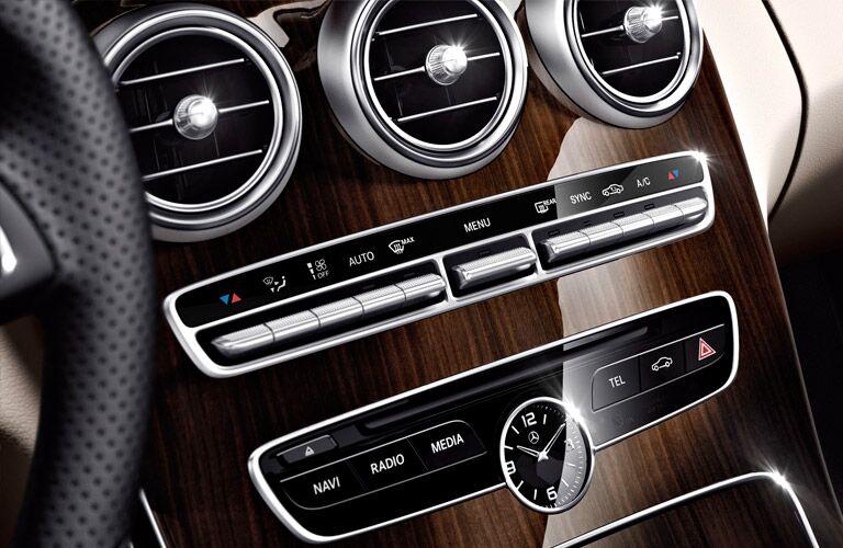 2016 Mercedes-Benz C300 Center Dashboard Clock