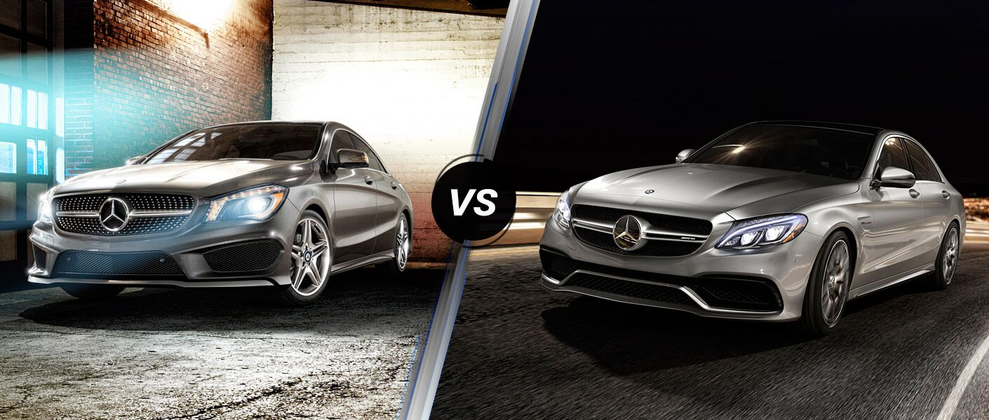 2016 Mercedes-Benz CLA vs 2016 Mercedes-Benz C-Class
