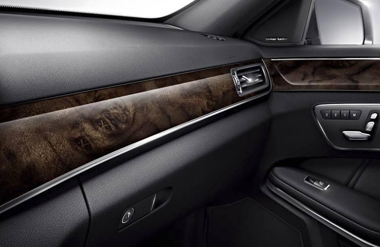 2016 Mercedes-Benz E400 Burl Walnut Interior Trim