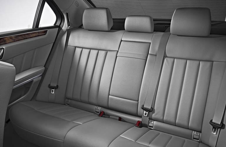 2016 Mercedes-Benz E-Class Back Seat