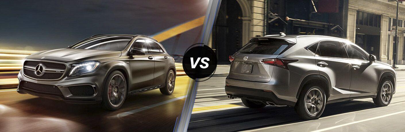 2016 Mercedes-Benz GLA vs Lexus NX