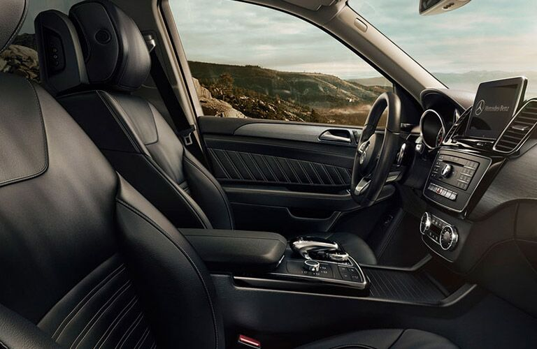 2017 Mercedes-Benz GLE400 4MATIC Black Leather Interior