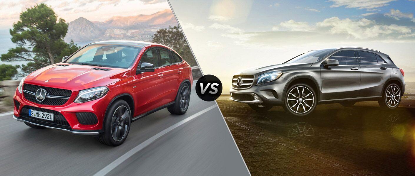 2016 Mercedes-Benz GLE vs 2016 Mercedes-Benz GLA