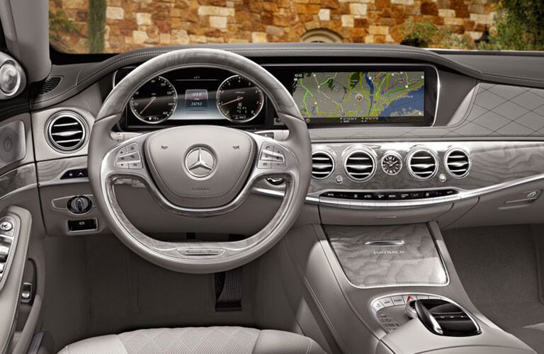 2016 Mercedes-Benz S550 Interior Display Screen