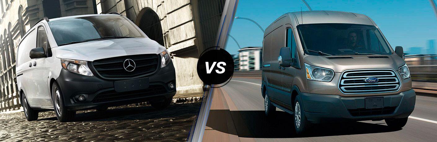 2016 Mercedes-Benz Sprinter vs 2016 Ford Transit
