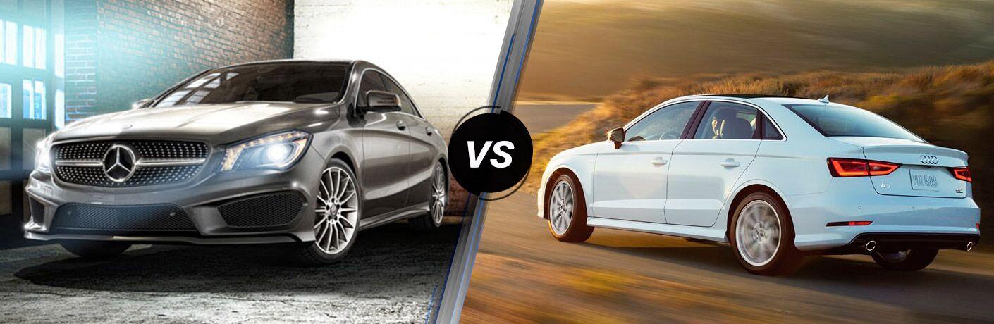 2017 Mercedes-Benz CLA vs 2017 Audi A3