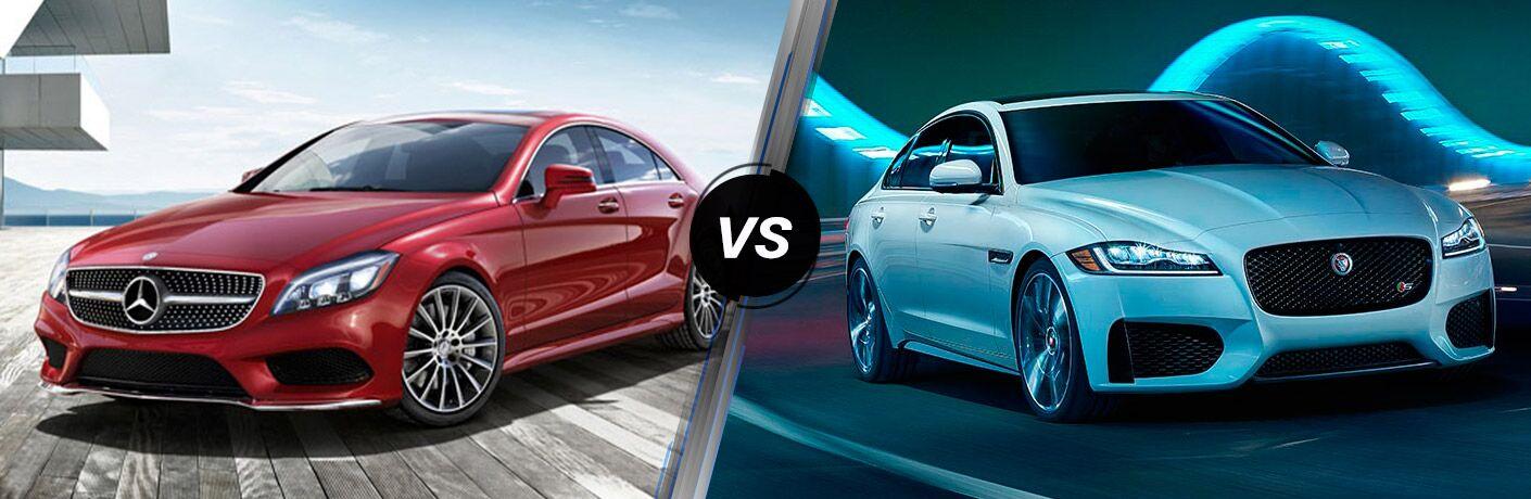 2016 Mercedes-Benz CLS vs 2016 Jaguar XF