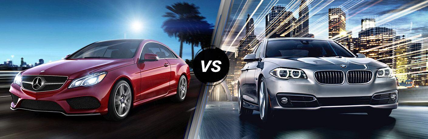 2016 Mercedes-Benz E-Class vs 2016 BMW 5-Series