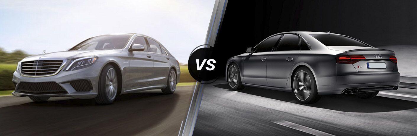 2017 Mercedes-Benz S-Class vs 2017 Audi S8