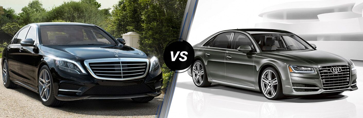 2016 Mercedes-Benz S-Class vs 2016 Audi A8