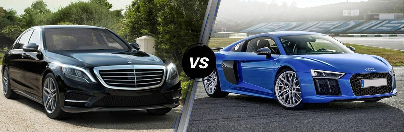 2017 Mercedes-Benz S-Class vs 2017 Audi R8