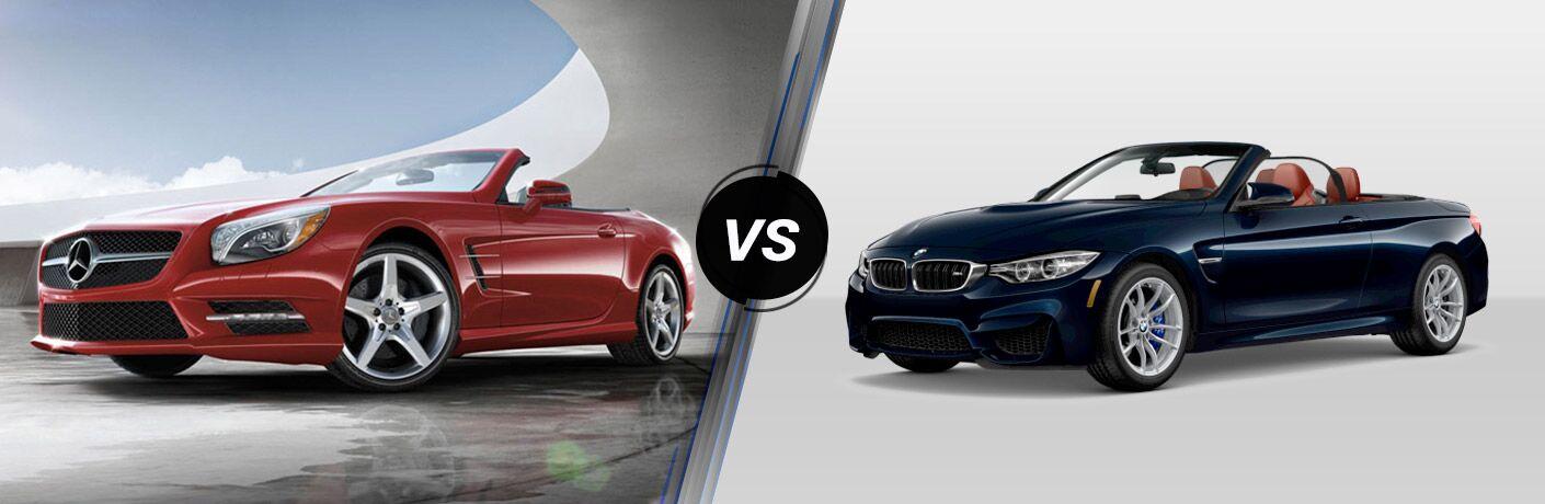 2016 Mercedes-Benz SL-Class vs 2016 BMW M4
