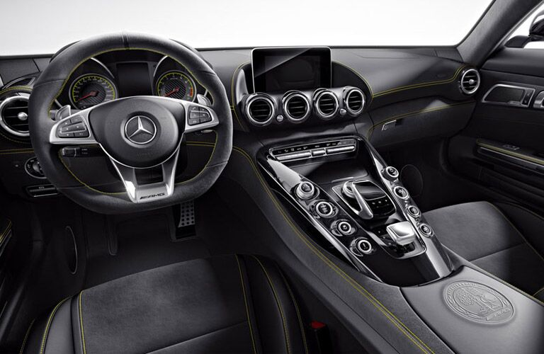 2016 Mercedes-AMG 8.4-inch Infotainment Screen