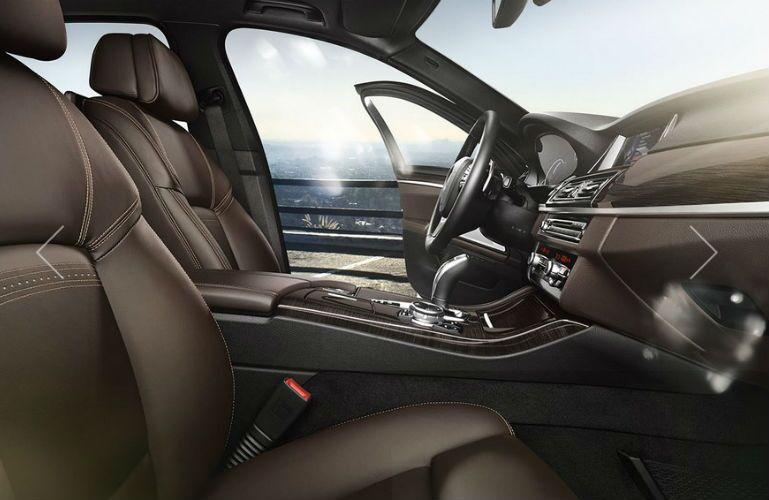 2016 BMW 535i Black Leather Interior