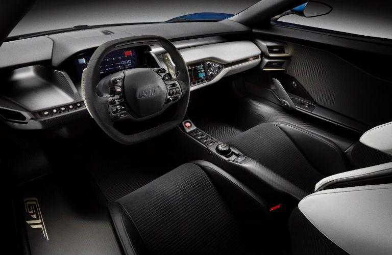 2016 Ford GT Black Cloth Cockpit