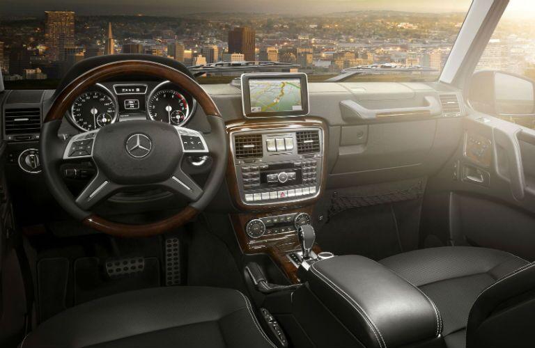 2016 Mercedes-Benz G-Class Navigation