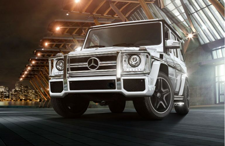 2016 Mercedes-Benz G-Class Headlights