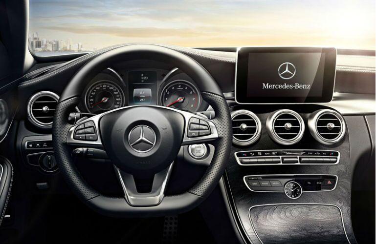 2017 Mercedes-Benz C300 Dashboard