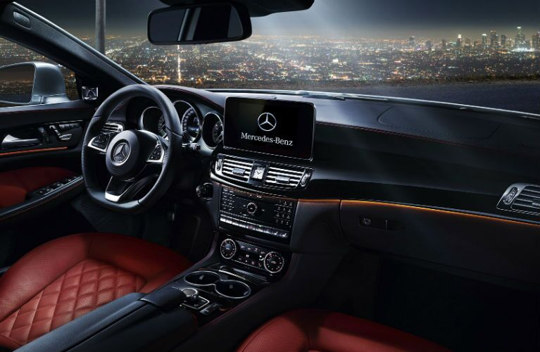 2016 Mercedes-Benz CLS Red Leather Seats
