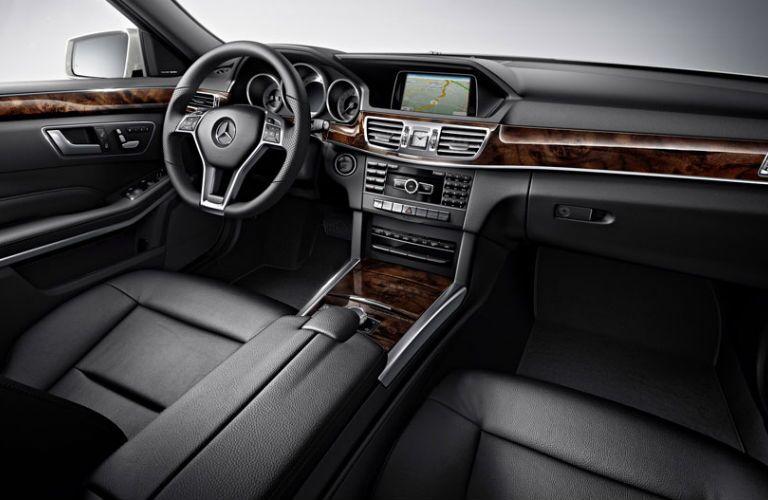 2016 Mercedes-Benz E350 Black Leather Interior