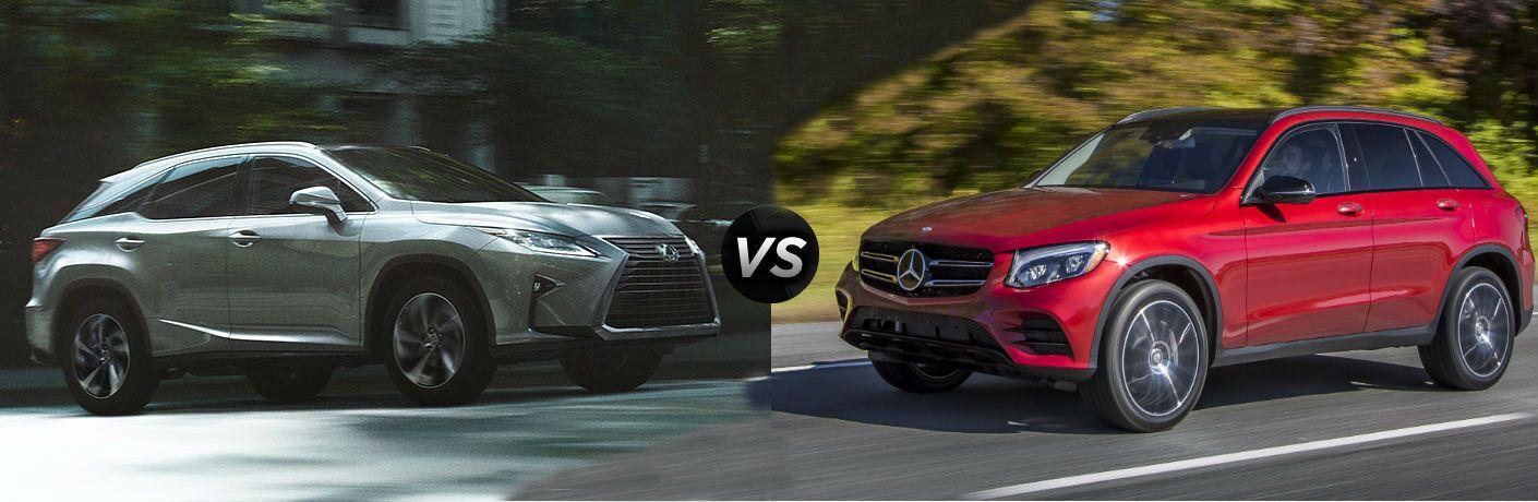 2016 Mercedes-Benz GLC vs 2016 Lexus RX