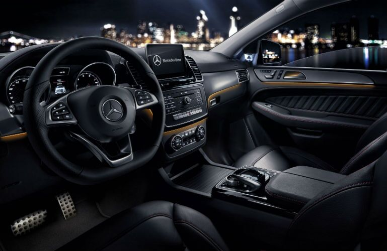 2017 Mercedes-Benz GLE Coupe Front Seats