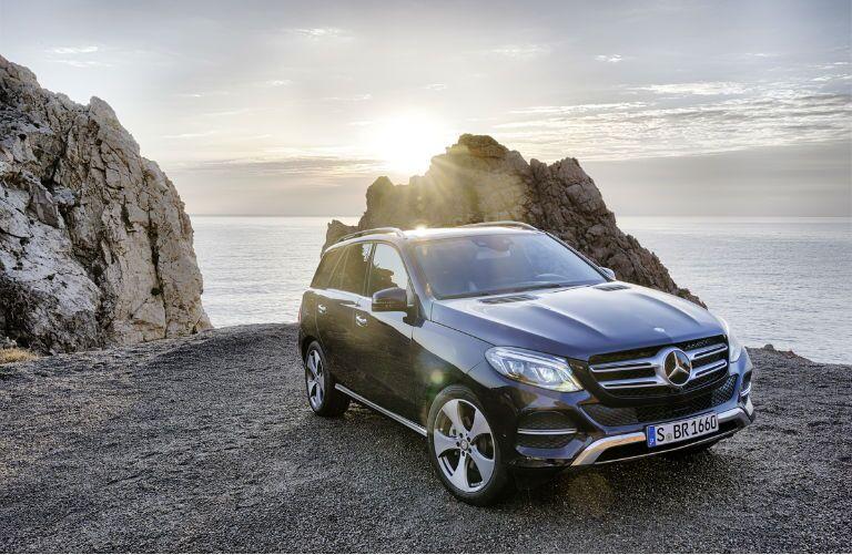 2017 Mercedes-Benz GLE SUV Navy Blue Exterior