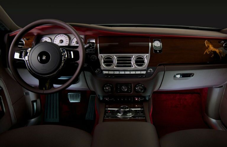 2016 Rolls Royce Ghost Extended Dark Leather Interior
