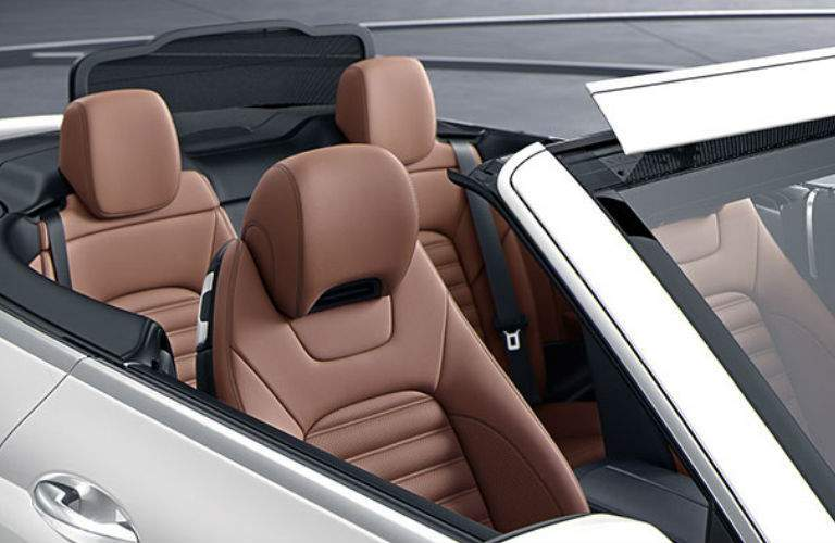 2018 C-Class Cabriolet seating