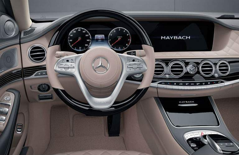 2017 Mercedes Benz Maybach Command Center Beige