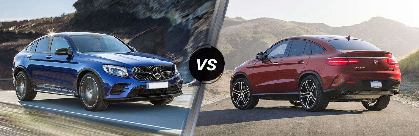 2017 Mercedes Benz Glc Coupe Vs 2017 Mercedes Benz Gle Coupe