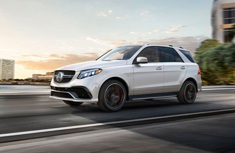 2017 Mercedes-Benz GLE SUV in white