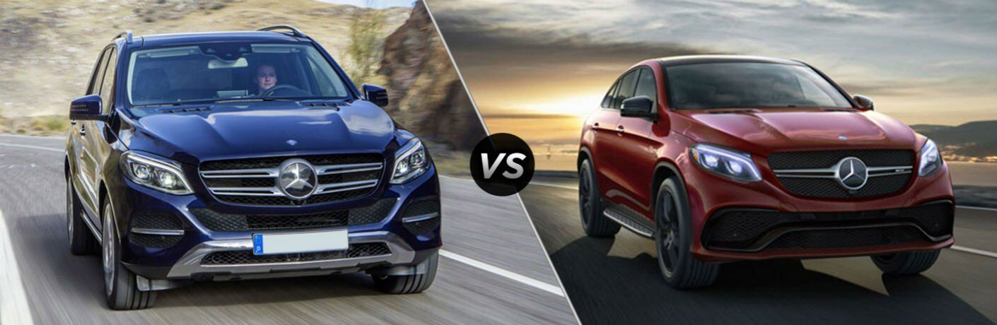 2017 Mercedes-Benz GLE vs 2017 Mercedes-Benz GLE Coupe