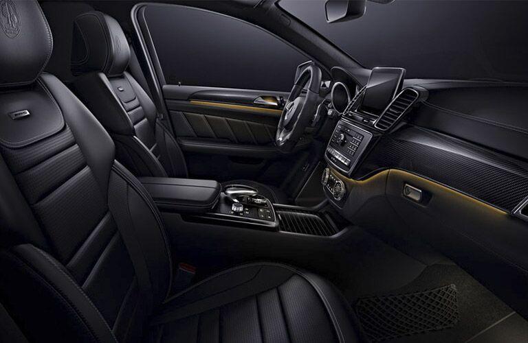 2017 Mercedes-AMG GLE63 Black Leather Interior