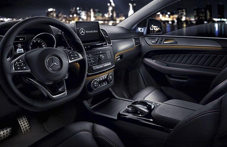 2017 Mercedes-AMG GLE43 Black Leather Interior