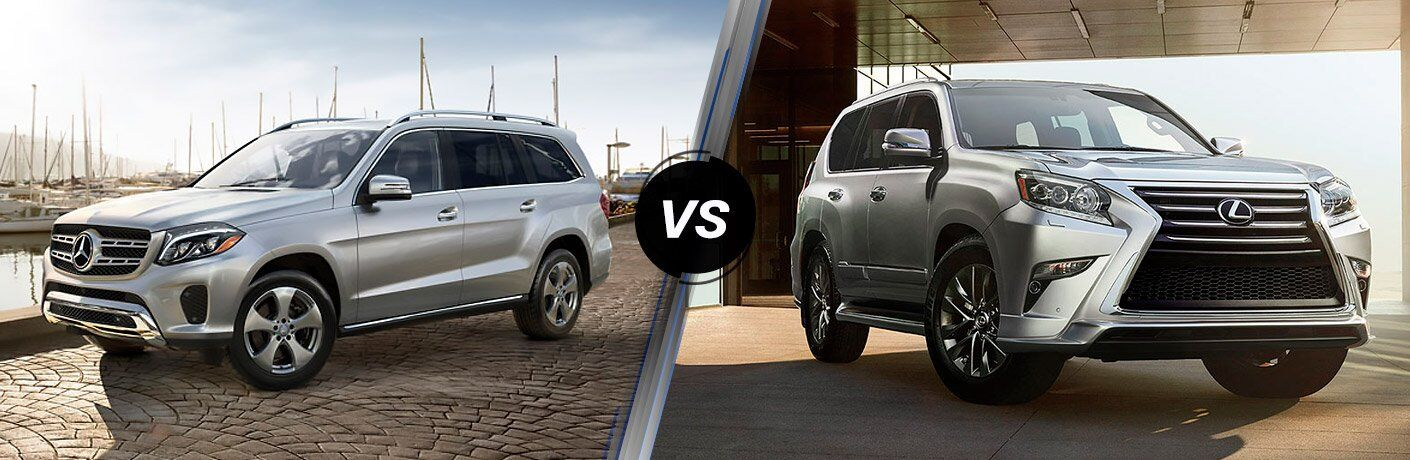 How does the Mercedes-Benz GLS compare to the Lexus GX?