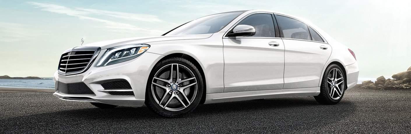 2017 Mercedes-Benz S-Class Sedan in White