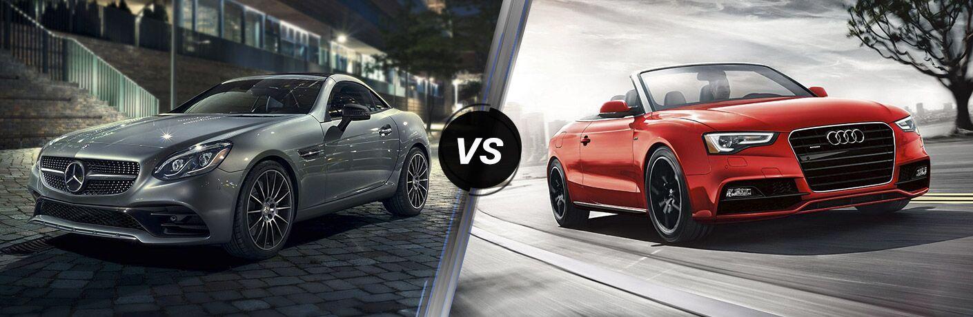 2017 Mercedes-Benz SLC vs 2017 Audi A5