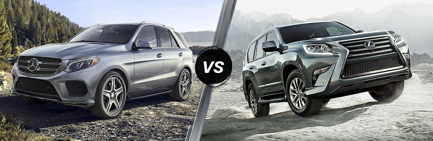 2017 mercedes benz gle vs 2017 lexus gx for Mercedes benz service coupons 2017