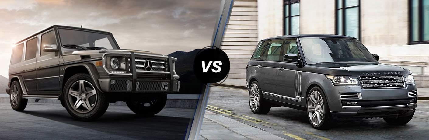 G-Class vs Range Rover