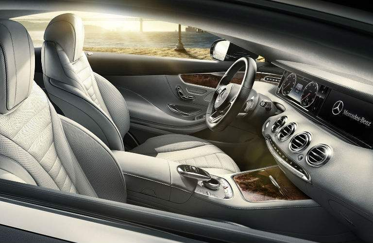 2017 S-Class Coupe Front Cabin