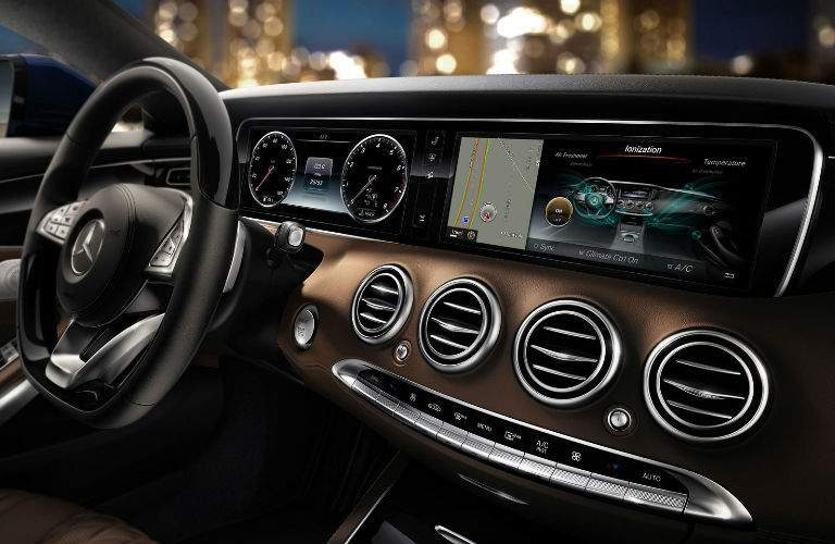 2017 S-Class Coupe Command Center