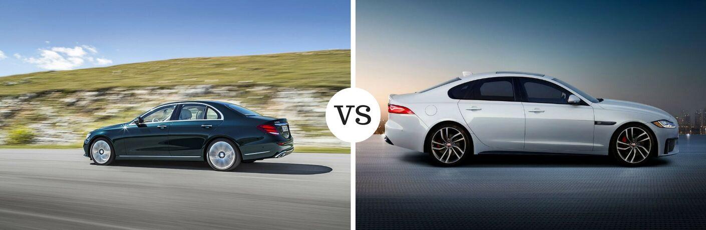 2017 Mercedes-Benz E-Class vs 2017 Jaguar XF