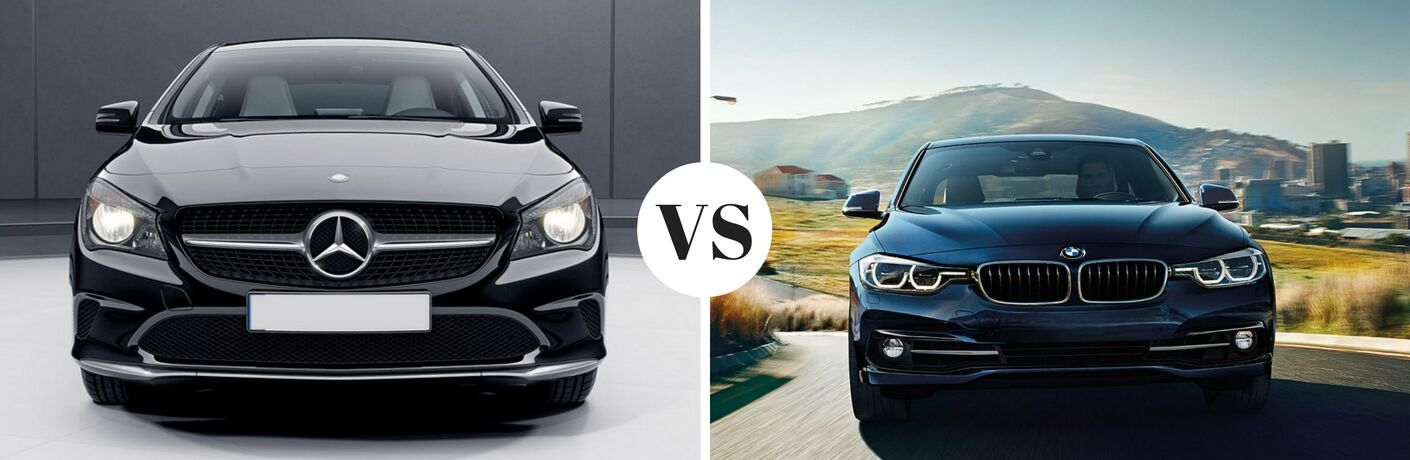 2017 mercedes-benz cla vs 2017 bmw 3 series