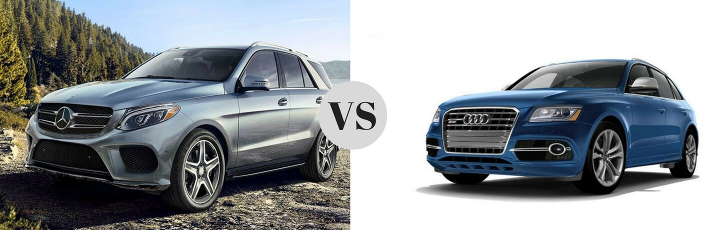2017 Mercedes-Benz GLE vs 2017 Audi SQ5